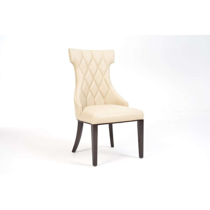 Mark Harris Fredo Cream Pu Dining Chair (Pair)