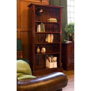 Furnish Our Home:Baumhaus La Roque Mahogany Tall Open Bookcase