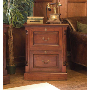 Furnish Our Home:Baumhaus La Roque Mahogany Two Drawer Filing Cabinet