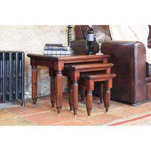Furnish Our Home:Baumhaus La Roque Mahogany Nest of Coffee Tables
