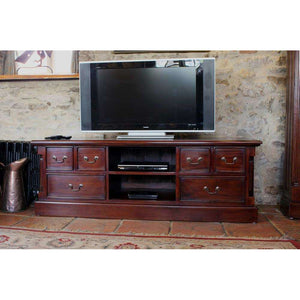 Furnish Our Home:Baumhaus La Roque Mahogany Widescreen Television Cabinet
