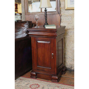 Furnish Our Home:Baumhaus La Roque Mahogany Lamp Table / Pot Cupboard