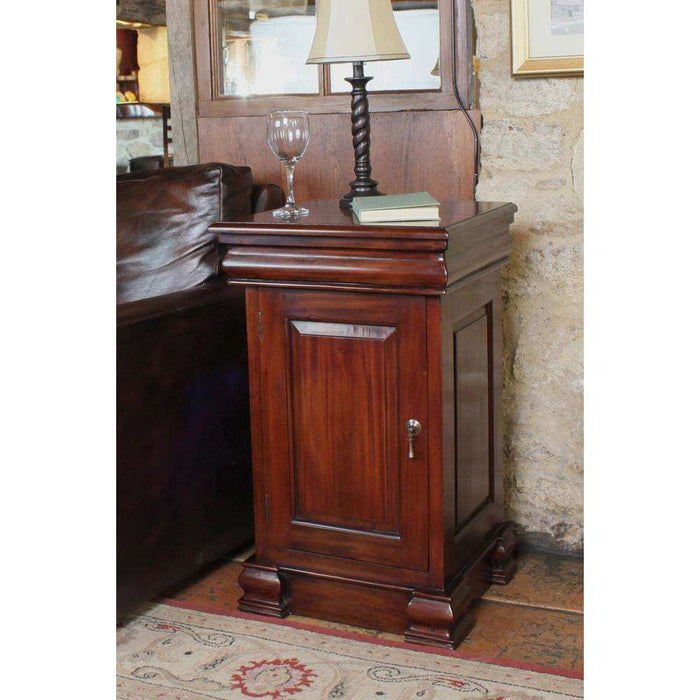 Baumhaus La Roque Mahogany Lamp Table / Pot Cupboard