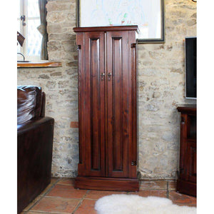 Furnish Our Home:Baumhaus La Roque Mahogany CD/DVD Cupboard