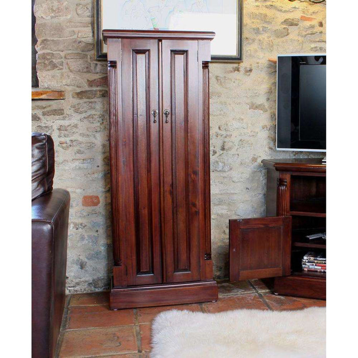 Baumhaus La Roque Mahogany CD/DVD Cupboard