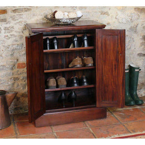Furnish Our Home:Baumhaus La Roque Mahogany Shoe Cupboard