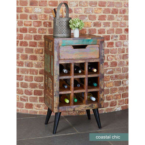 Furnish Our Home:Baumhaus Coastal Chic Wine Rack Lamp Table
