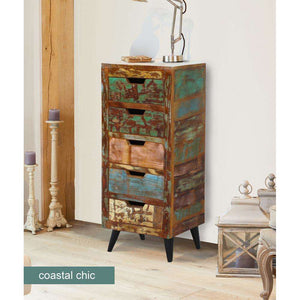 Furnish Our Home:Baumhaus Coastal Chic 5 Drawer Tallboy