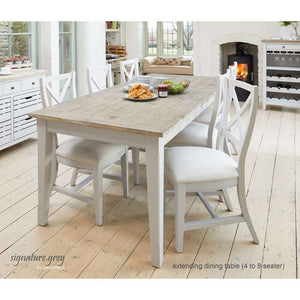 Furnish Our Home:Baumhaus Signature Extending Dining Table with Dining Bench and 4 x Dining Chairs