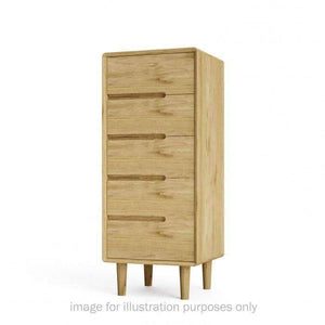 Furnish Our Home:Homestyle Scandic 5 Drawer Narrow Chest