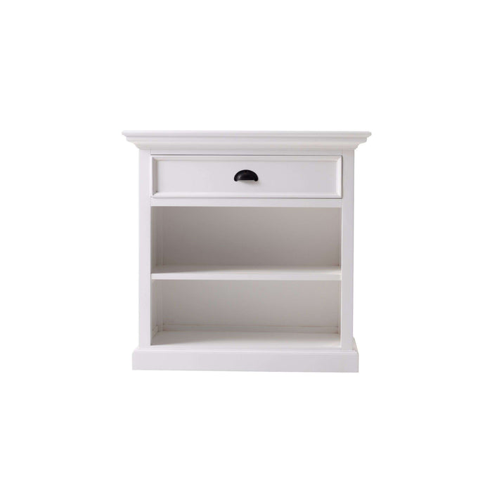 NovaSolo Halifax Grand Bedside Table with Shelves