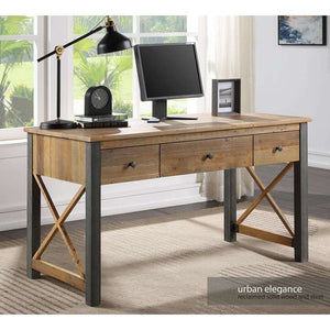 Furnish Our Home:Baumhaus Urban Elegance Reclaimed Home Office Desk / Dressing Table