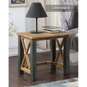 Furnish Our Home:Baumhaus Urban Elegance Reclaimed Open Front Side / Lamp Table