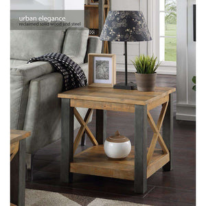 Furnish Our Home:Baumhaus Urban Elegance Reclaimed Lamp Table
