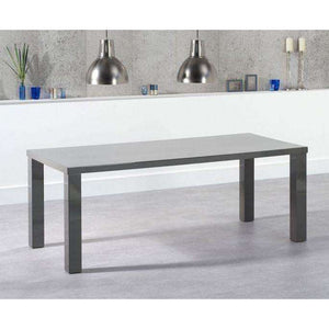 Furnish Our Home:Mark Harris Ava 200cm Dark Grey High Gloss Dining Table