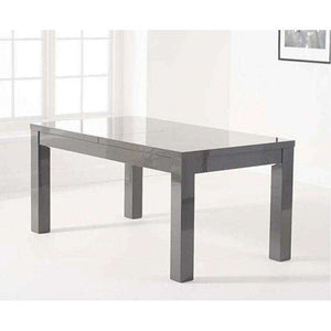 Furnish Our Home:Mark Harris Ava Dark Grey Gloss 160-220cm Extending Table