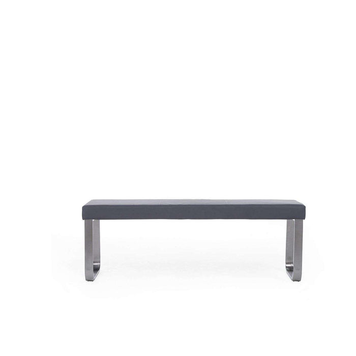 Mark Harris Ava Large Grey Bench (For 180cm Tables)