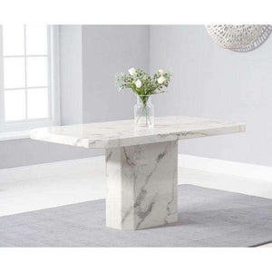 Furnish Our Home:Mark Harris Becca 160cm White Dining Table
