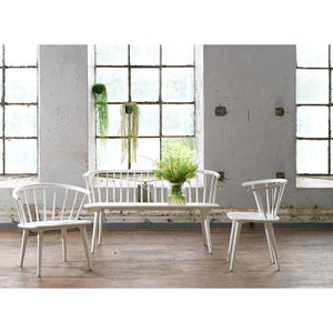 Furnish Our Home:Beco Living Scandi Kingswood Chair White (Pair)