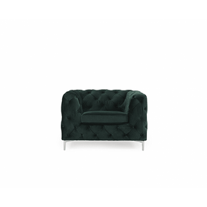 Furnish Our Home:Mark Harris Alegra Green Plush Armchair