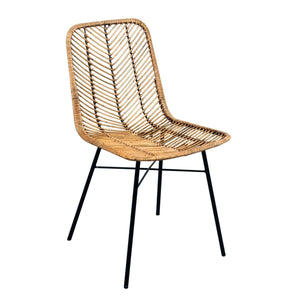 Furnish Our Home:Beco Living Mei Rattan Dining Chair Honey (Pair)