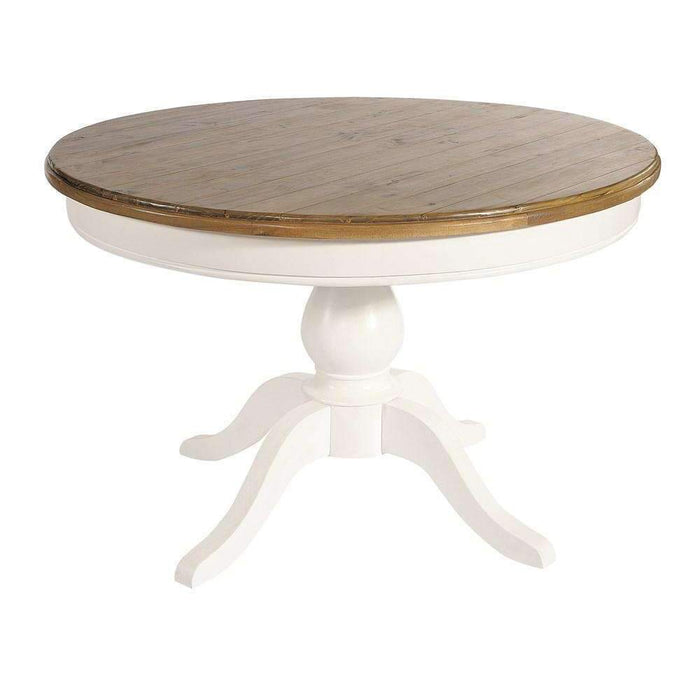 Rowico Lulworth 1.2m Round Pedestal Dining Table
