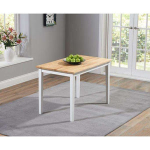 Furnish Our Home:Mark Harris Chichester Oak & Grey Dining Table