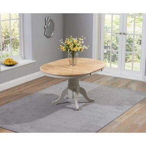 Furnish Our Home:Mark Harris Elstree Oak And Grey Extending Dining Table