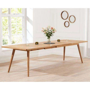 Furnish Our Home:Mark Harris Tribeca 200cm Oak Table