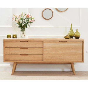 Furnish Our Home:Mark Harris Tribeca Oak Sideboard