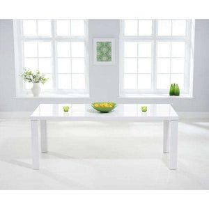 Furnish Our Home:Mark Harris Ava 200cm White High Gloss Dining Table