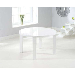 Furnish Our Home:Mark Harris Ava 120cm Round High Gloss Dining Table