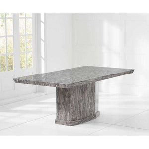 Furnish Our Home:Mark Harris Como 200cm Marble Dining Table - Grey