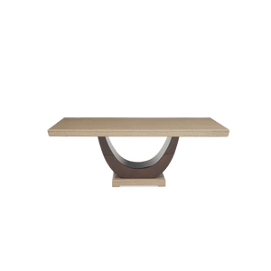 Furnish Our Home:Mark Harris Rivilino 200cm Marble Dining Table - Brown