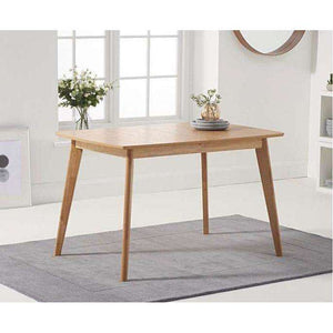 Furnish Our Home:Mark Harris Seth Oak 120cm Ext Dining Table