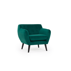 Furnish Our Home:Mark Harris Tina Accent Chair - Green Velvet