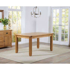 Furnish Our Home:Mark Harris York 140cm Oak Dining Table