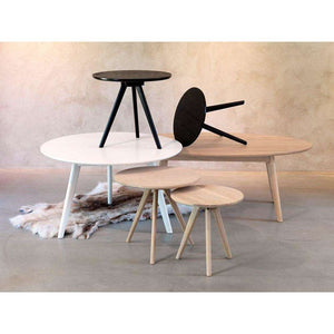 Furnish Our Home:Beco Living Scandi Nelson Nest of 2 Tables Black