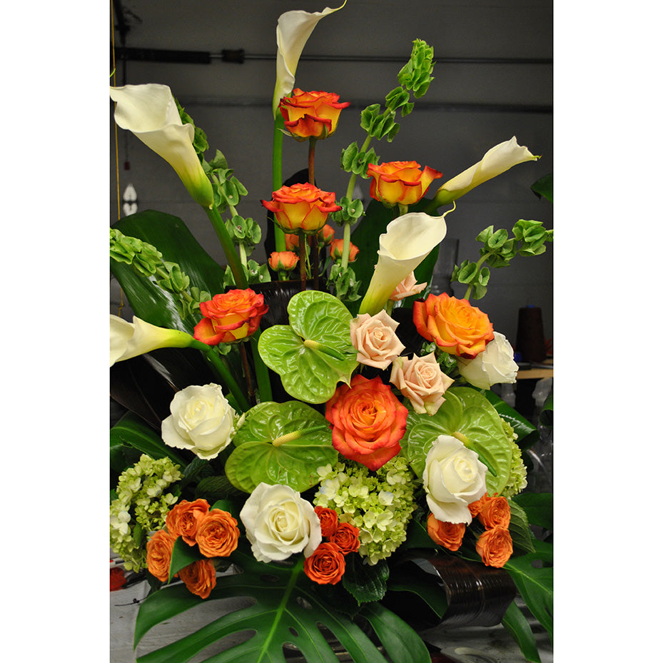 Green & Orange Arrangement