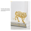 The Golden Tiger Sculpture