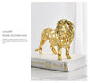 The Golden Lion Sculpture