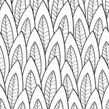 Corn Leaves Leaf Black Botanical Forest Modern Pattern Realistic Mural Coastal Self Adhesive Hand Drawn Removable Wallpaper WW033