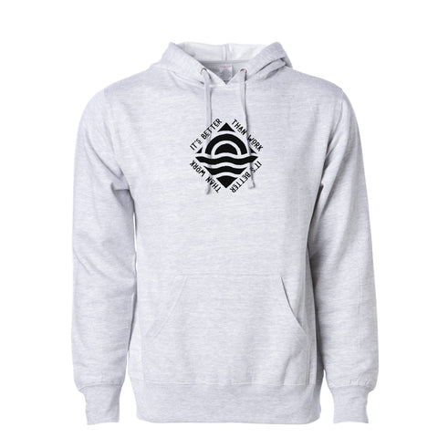 Heather Grey IBTW Midweight Hooded Sweatshirt