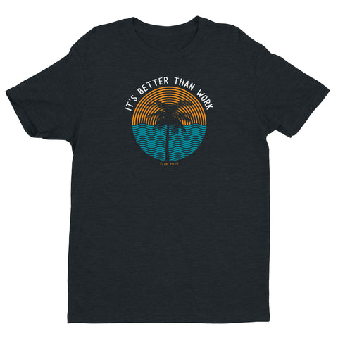 Men's Better Sunset Crew Tee