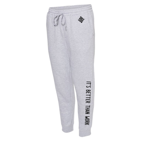 Heather Grey IBTW Midweight Fleece Pants