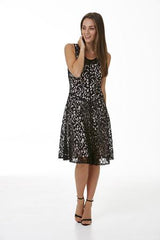 Womens dresses S172505 black/pale dogwood
