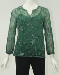 Womens tops S175203 green