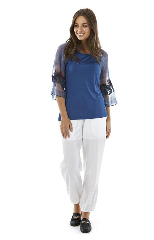 Womens tops S181200 blue