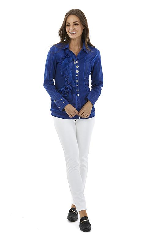 Womens tops S181206 cobalt
