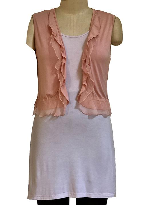 Womens vests S185600 pink